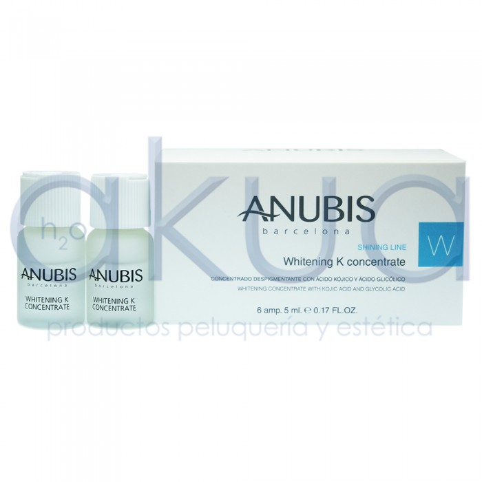 Concentrado Whitening K Concentrate Anubis 6 am. de 5 ml