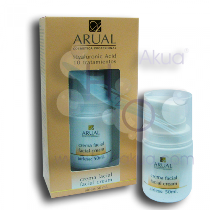 Crema Facial Arual con Acido Hialuronico  50 Ml