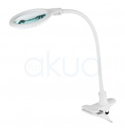 Lupa 5 Aumentos Led con Pinza