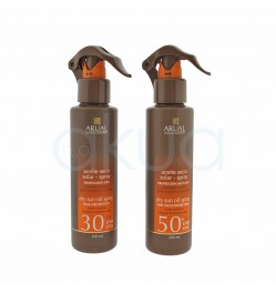 Aceite seco solar spray 200ml Arual
