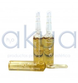 Ampolla post depilatoria H2oakua 10ml Paq. 10 unid.