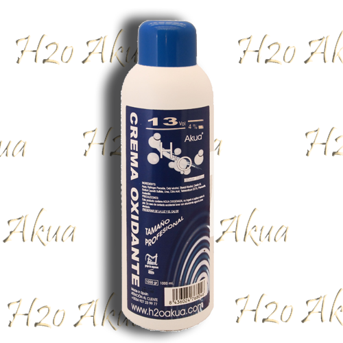 Emulsion H2o Akua intensiva 4% 1000 cl crema