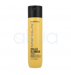 Champoo Potenciador del brilho Hello Blondie Matrix  300ml