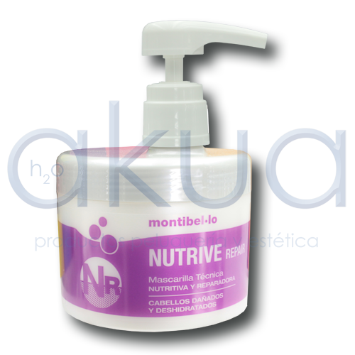 Mascarilla Nutrive repair Montibello 500 ml OUTLET
