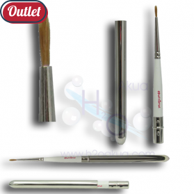 Pincel Eye Liner Plegable Laton Pelo Marta Martora Ref.17367 OUTLET