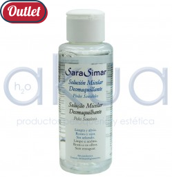 Desmaquillante Micelar Sara Simar 100ml OUTLET