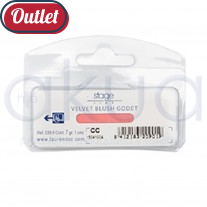 Velvet godet suelto colorete Stage OUTLET