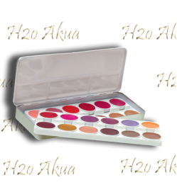 Paleta Lip color labios metalica  24 unid Stage