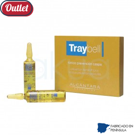 Ampollas prevencion caspa  6*10 ml Traybell Outlet