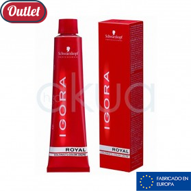 Tinte Igora Royal 60 ml OUTLET