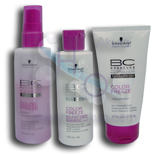 Lote Bonacure Color Freeze Mini travel pack