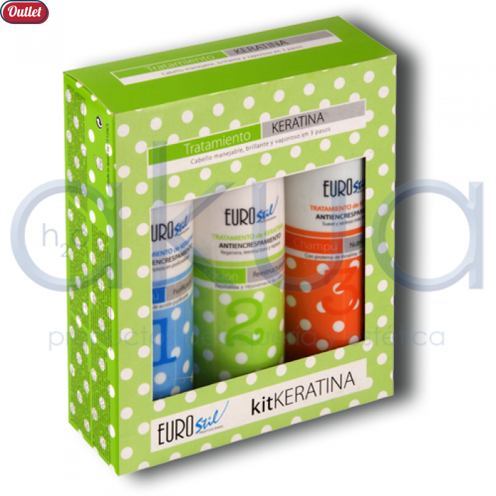 Kit Keratina Eurostil OUTLET