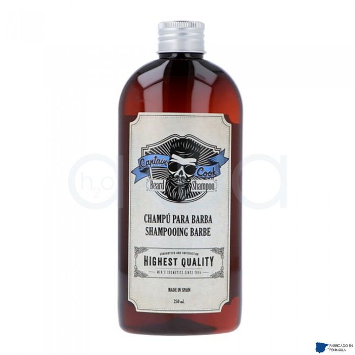 Champu Para Barba 250 Ml Captain Cook