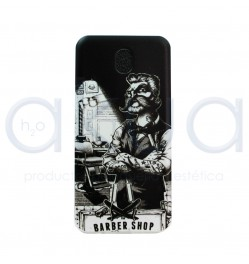 Funda para Movil Barber Shop h2oakua