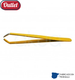 Pinza Inoxidable Color Amarillo Martora OUTLET