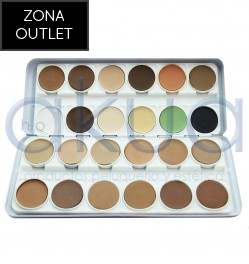 Paleta Make Up 24 Ud Stage Outlet